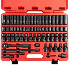"""Neiko 02471A 3/8"""" Standard and Deep Drive Impact Socket Set 67 pcs 