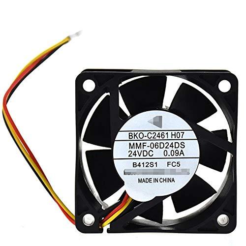 MMF-06D24DS-FC5 DC24V 0.09A BKO-C2461H07 6025 inverter cooling fan