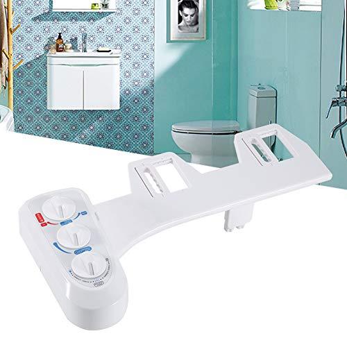 GOTOTOP Kit de Bidet WC Douchette Bidet de Toilette avec Buse pour Hygiène Intime (3 Bouton)