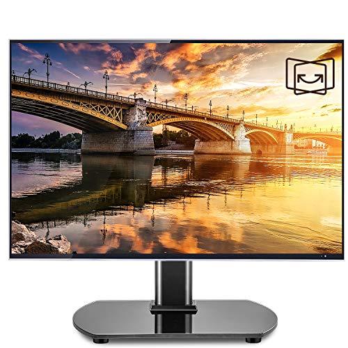 Supporto universale girevole per TV con staffa di montaggio regolabile in altezza per TV da 22 a 40 pollici a schermo piatto o curvo MAX VESA 200 x 30