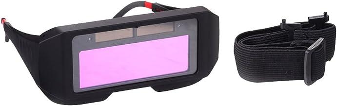 Baoblaze Máscara de Solda com Escurecimento Automático Alimentado Por Energia Solar Óculos de Solda Óculos de Proteção # 1