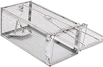 Kensizer Small Animal Humane Live Cage Rat Mouse Chipmunk Rodent Voles Hamsters Trap That Work for Indoor and Outdoor, Trampa para Ratones, Catch and Release