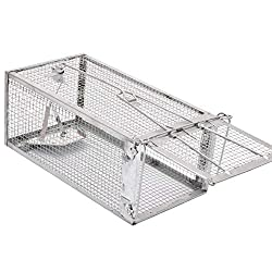 Kensizer Small Animal Humane Live Cage Mouse Trap
