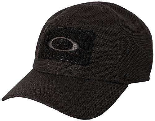 Oakley Mens Herren SI Cap Mütze, schwarz, L/XL