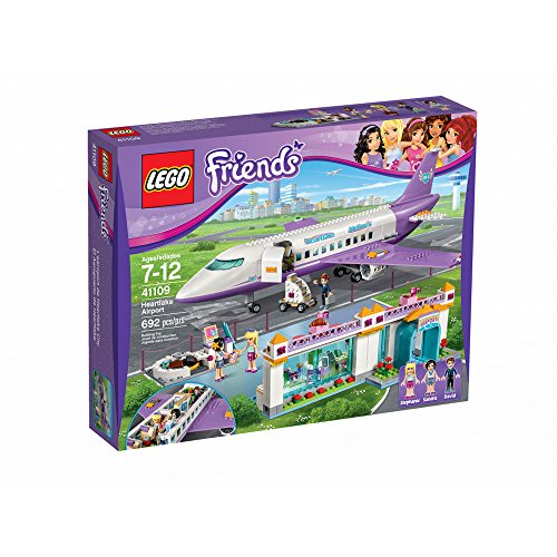 Friends Lego Lego Heart Lake Airport 41109