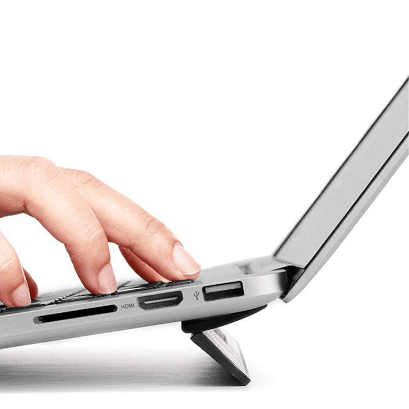 簡単な回復自慢NELSON【ネルソン】ノートパソコンスタンド PCスタンド フリップスタンド MacBook専用 13インチ 12インチ対応 軽量 折りたたみ 放熱 タイピング角度