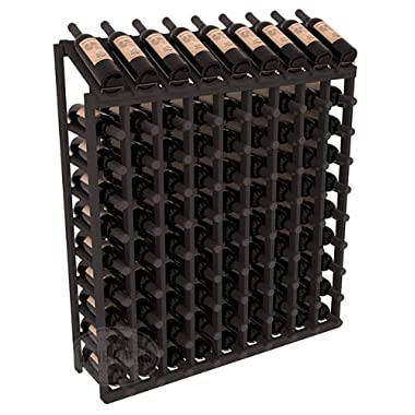 Wine Racks America Ponderosa Pine 9 Column 10 Row Display Top Kit. 13 Stains to Choose From!