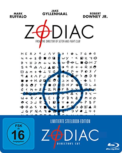 Zodiac - Die Spur des Killers Steelbook  (exklusiv bei Amazon.de) [Blu-ray] [Limited Edition] [Director's Cut]