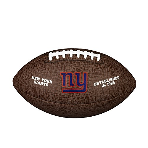 Wilson NFL Team Logo Composite Fußball, New York Giants, Official
