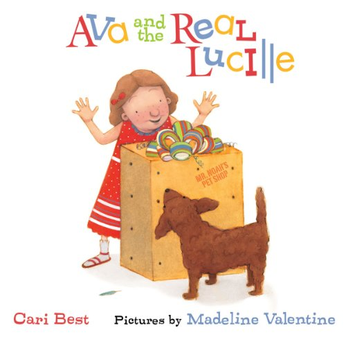 Ava and the Real Lucille audiobook cover art
