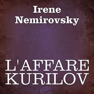 L'affare Kurilov copertina