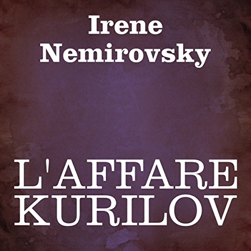 L'affare Kurilov [The Deal Kurilov] audiobook cover art