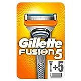 Gillette Fusion5 rasoir + 5 lames pour Homme