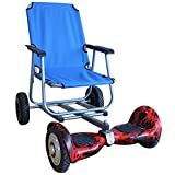 General Sale-Sitting Attachment for Hoverboard, Hoverboard Cart Attachment (Blue)