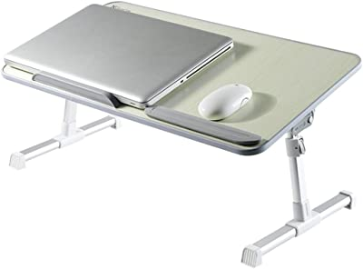 Byrhgood Table Folding Table Lazy Small Desk Mini Student