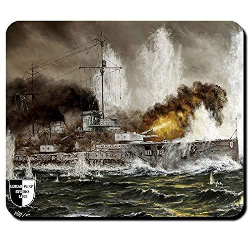 Mouspad Lukas werp SMS Seydlitz schip Eerste Wereldoorlog grote kruis schilderij afbeelding kunst slachtkruis #23882
