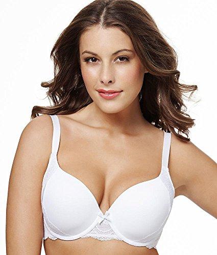 PERFECTS Australia Womens Michelle Balconette Tshirt White Bra14UBR93-32DD