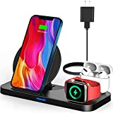 Wireless Charging Station for Apple Products, 3 in 1...