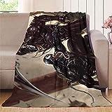 XavieraDoherty Venom V Riot Manta de colchón de 127 x 177,8 cm, lujosa manta de franela para ropa de cama (ligera, súper suave)