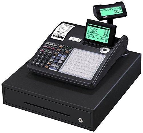 Casio-sE c3500MB gDPdU-fIS-caisse enregistreuse softwarelizenz, avec fente pour carte sD et de résiliation de batterie et complet hotline inclus (français non garanti) noir