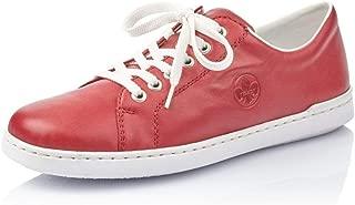 Rieker Damen Sneaker Halbschuh Sportschuh Schnürschuh Freizeitschuh Schuhe bunt