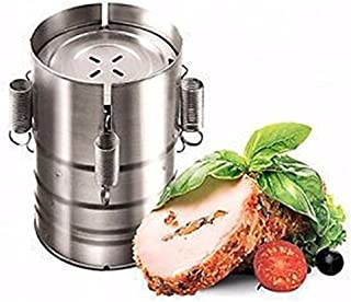 3 Layers Meat Cooking Hamburger Press Stainless Steel Ham Patty Burger Maker Mold Non-rust Meat Poultry Tools Kitchen Products Katoot