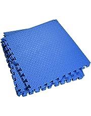 Sammankoppling mjuk skum golvmatta mix mönster yoga MAt EVA pussel skum gym golv mattor skyddande golvplattor