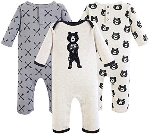 Yoga Sprout Unisex Baby Cotton Coveralls Bear Hugs 18 24 Months product image