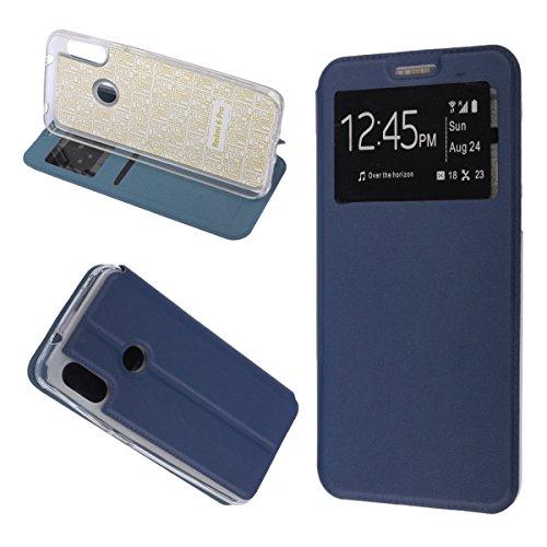 MISEMIYA - Estuche Xiaomi Mi A2 Lite / Xiaomi Redmi 6 PRO - Estuche Solo, cubierta de imán deportivo, azul