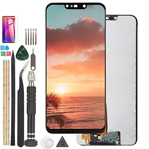 RongZy Kompatibel mit Huawei P Smart Plus/Nova 3i Ersatz Bildschirm LCD Display und Touchscreen-Digitizer mit Werkzeugen (Schwarz)