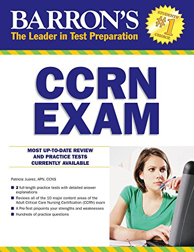 CCRN Exam with Online Test (Barron's Test Prep)
