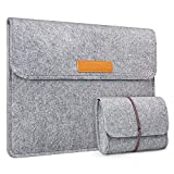 Inateck Filz Tasche Hülle Kompatibel mit 13' MacBook Air 2020 M1-2018, 13'' MacBook Pro...