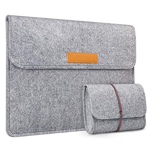Inateck Laptop Sleeve Compatible with MacBook Air 13 2018-2020, MacBook Pro...
