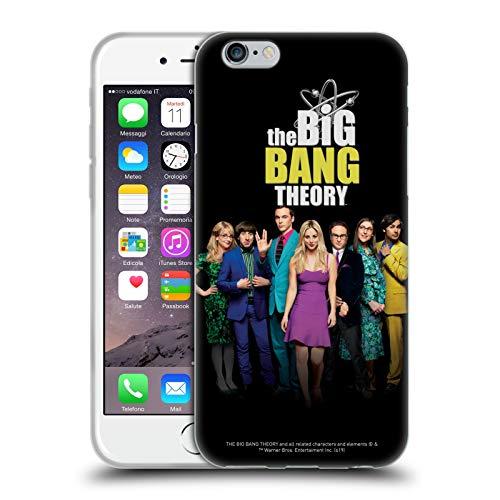 Head Case Designs Offizielle The Big Bang Theory Staffel 11 B Schluessel Kunst Soft Gel Handyhülle Hülle Huelle kompatibel mit Apple iPhone 6 / iPhone 6s