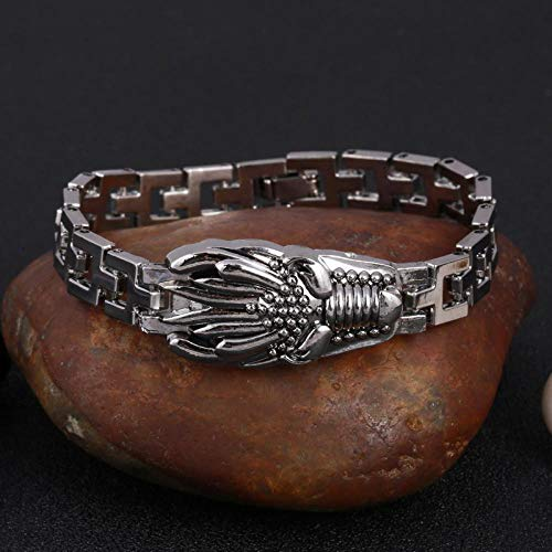 Jewellery Bracelets Bangle For Womens 316L Stainless Steel Cool Men Steel Man Skull Charms Bracelet Chain Bracelets & Bangles-Sl512