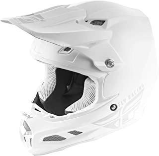 FLY RACING F2 CARBON MIPS SOLID HELMET WHITE LG