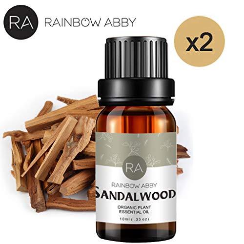 RAINBOW ABBY Sandelholz Öl NaturReines ÄTherische SandelholzÖl 2x10ml Naturrein ÄTherische Öle