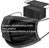 MaNMaNing 20200702-MANING-X101 - Protezione a 3 strati traspirante con elastico per le orecchie