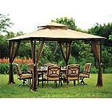 Garden Winds Ersatzdach für Pavillon im Bambus-Look – 350