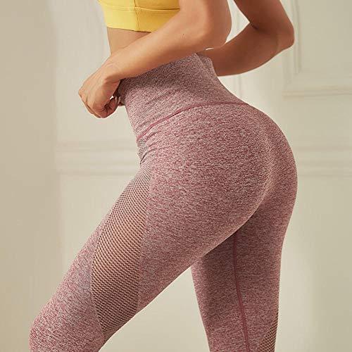Workout-legging met hoge taille voor meisjes,Uitgesneden naadloze yoga-legging, sportvrouwen Gym Scrunch butt-legging, hardloopbroek met joggingbroek