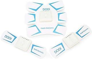 ABSトレーナーEMS筋肉刺激装置付き - USB充電式究極腹部刺激装置付きリズム&ソフトインパルス - ポータブルマッスルトナー (Color : White)