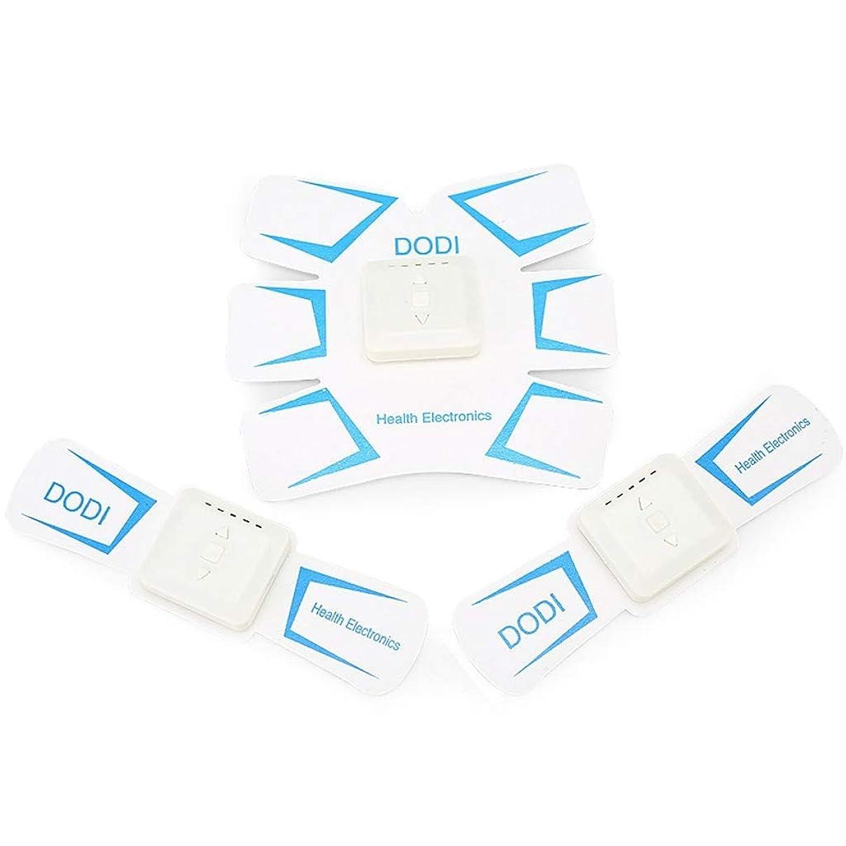 友だちグレー高めるABSトレーナーEMS筋肉刺激装置付き - USB充電式究極腹部刺激装置付きリズム&ソフトインパルス - ポータブルマッスルトナー (Color : White)