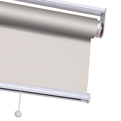 Rullskärmar och persienn trådlös fjäder vattentät rullgardiner nyanser ljusfiltrering UV-skydd persienner för hemmet, anpassningsbara 70cmx200cm a