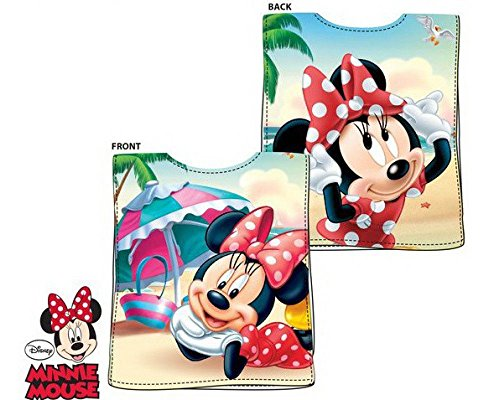 for-collectors-only Minnie Mouse Poncho Kapuzenponcho Handtuch Badetuch Strandtuch Disney Kids Happy Days Hooded Towel