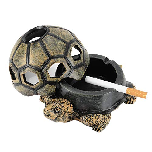 Scotte Novelty Turtle Cigar Ashtray/Outdoor Ashtray/Ashtray Outdoor for Home or Gift