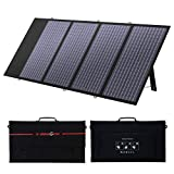 X-DRAGON 130W Foldable Solar Panel Portable Solar Charger with Parallel Port, with MC-4 for Compatible with Most Portable Power Station, Laptop, Cellphone and Tablet