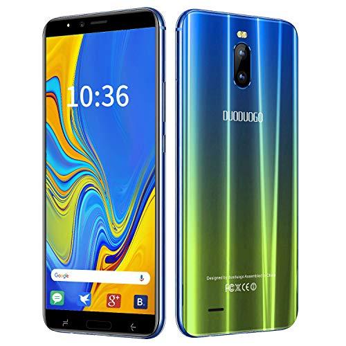 Moviles Libres 4G 6 Pulgadas,3GB+16GB/128GB ROM Android 8.1 Smartphone Libre Dual SIM 4G Moviles Buenos 4800 mAh Cámara 8MP Telefono Movile Libre GPS Face ID