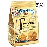 3x Mulino Bianco tenerezze al limone kekse cookies kuchen mit Zitrone 200g