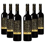 Lahar de Calatrava Tempranillo 100% - Vino tinto Campo de Calatrava - Caja de 6 botellas x 750ml