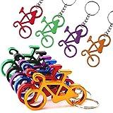 Llavero abrebotellas para bicicleta, mini abridor de botellas, divertido regalo para bicicleta, abrebotellas
